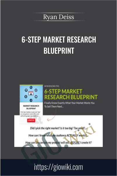 6-Step Market Research Blueprint - Ryan Deiss