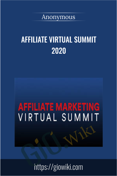 Affiliate Virtual Summit 2020