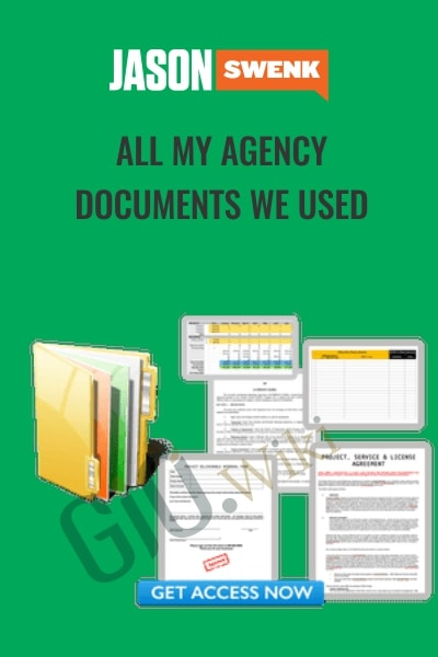 All My Agency Documents We Used