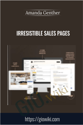 Irresistible Sales Pages - Amanda Genther