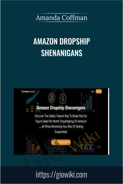 Amazon Dropship Shenanigans - Amanda Coffman