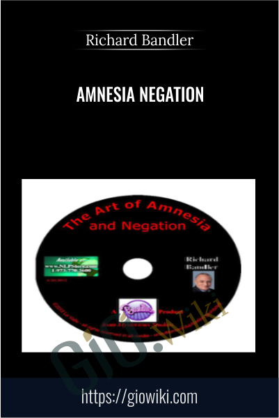 Amnesia Negation - Richard Bandler
