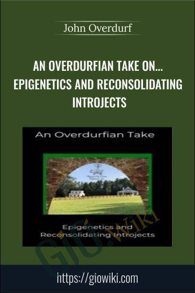 An Overdurfian Take on... Epigenetics and Reconsolidating Introjects - John Overdurf