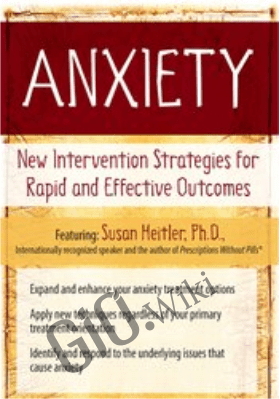 Anxiety: New Intervention Strategies for Rapid and Effective Outcomes - Susan Heitler
