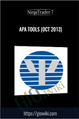 APA Tools (Oct 2013) - NinjaTrader 7