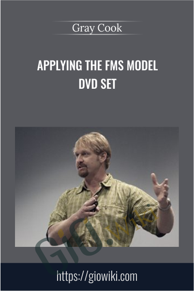 Applying the FMS Model DVD set - Gray Cook