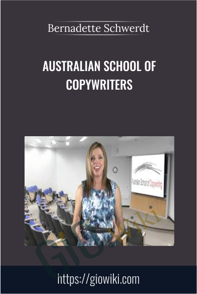 Australian School Of Copywriters - Bernadette Schwerdt