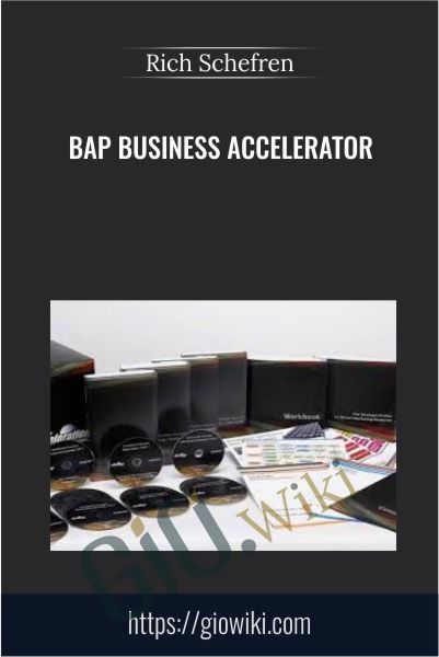 BAP Business Accelerator - Rich Schefren