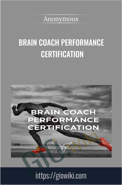 Brain Coach Performance Certification