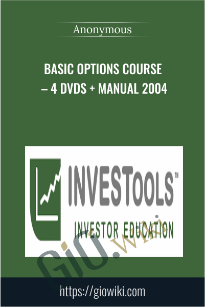 Basic Options Course – 4 DVDs + Manual 2004