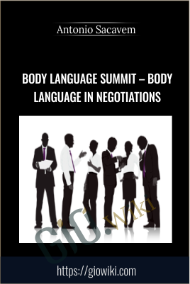 Body Language Summit – Body language in Negotiations - Antonio Sacavem