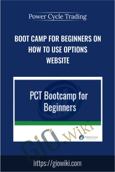 Boot Camp for Beginners on How To Use Options Website - Power Cycle Trading