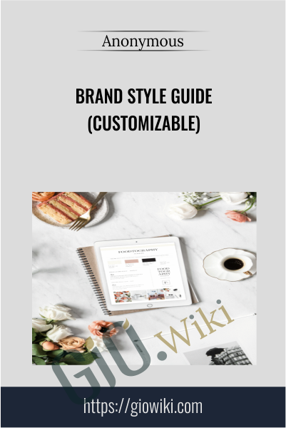 Brand Style Guide (Customizable)