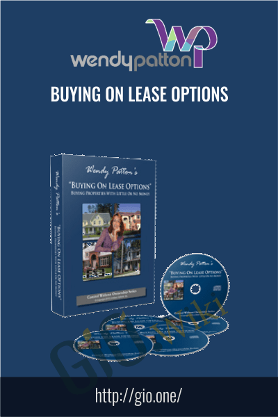 Buying on Lease Options - Wendy Patton