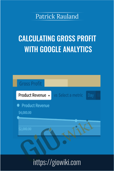 Calculating Gross Profit with Google Analytics - Patrick Rauland