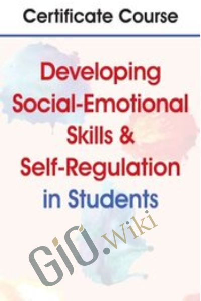 Certificate Course in Developing Social-Emotional Skills & Self-Regulation in Students - Carol Westby