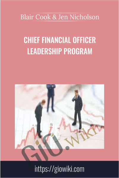 Chief Financial Officer Leadership Program - Blair Cook & Jen Nicholson