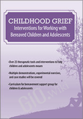 Childhood Grief: Interventions for Working with Bereaved Children and Adolescents - Erica Sirrine