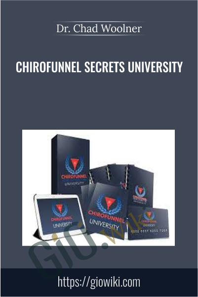 Chirofunnel Secrets University - Dr. Chad Woolner