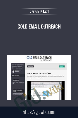 Cold Email OutReach – Oren Klaff