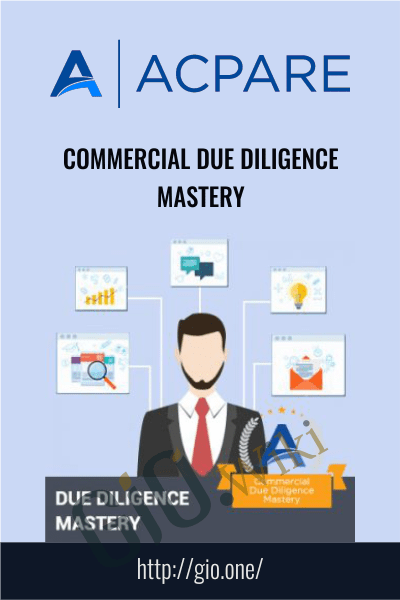 Commercial Due Diligence Mastery - ACPARE