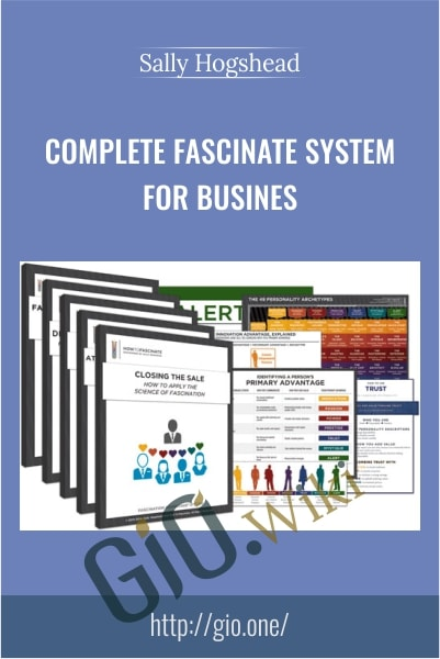 Complete Fascinate System for Busines - Sally Hogshead