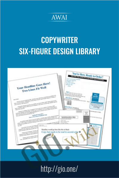 Copywriter Six-Figure Design Library