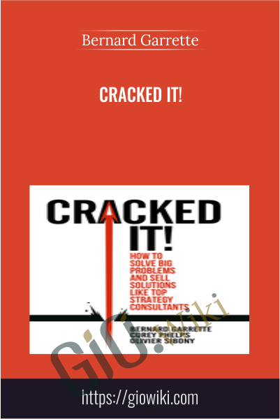 Cracked It! - Bernard Garrette