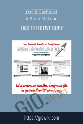 Fast Effective Copy – David Garfinkel And Brian McLeod