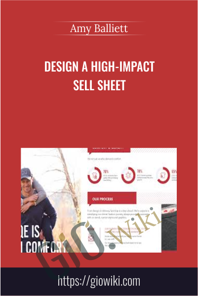 Design a High-Impact Sell Sheet - Amy Balliett