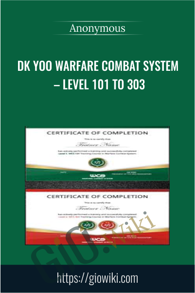 Dk Yoo Warfare Combat System – Level 101 to 303