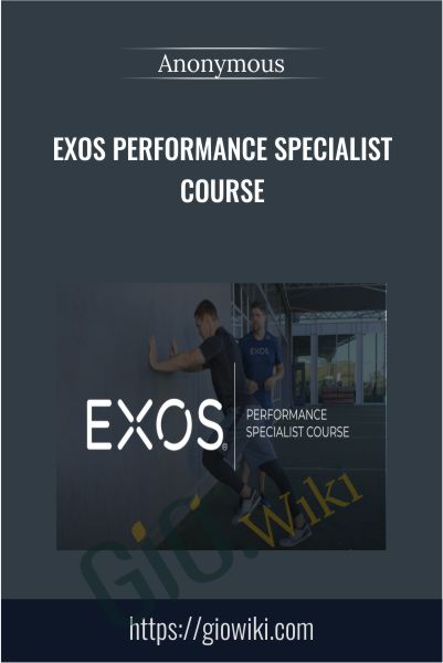 EXOS Performance Specialist Course
