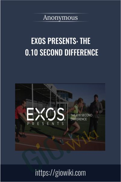 EXOS Presents: The 0.10 Second Difference