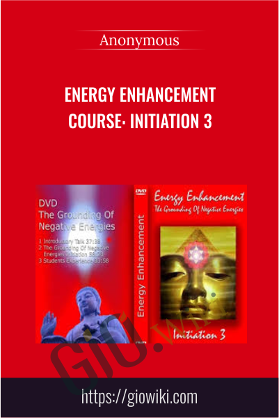 Energy Enhancement Course: Initiation 3