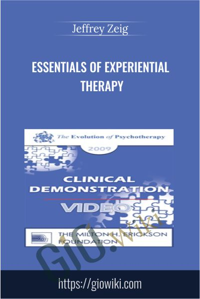 Essentials of Experiential Therapy - Jeffrey Zeig