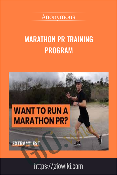 Marathon PR Training Program