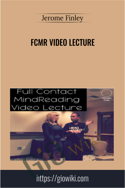 FCMR Video Lecture - Jerome Finley