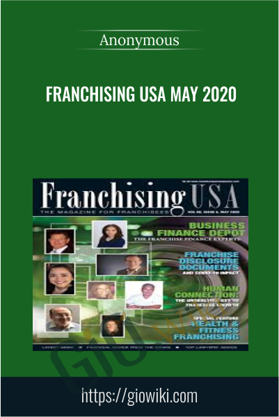 Franchising Usa May 2020