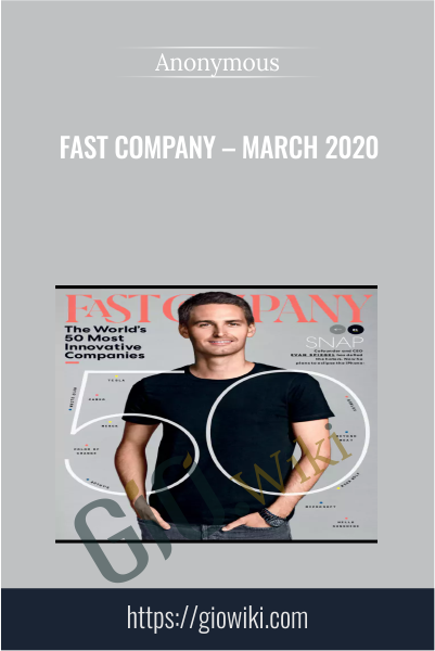 Fast Company – March 2020