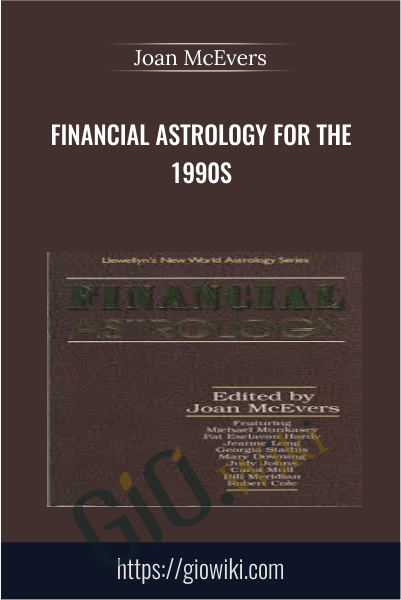 Financial Astrology for the 1990s - Joan McEvers