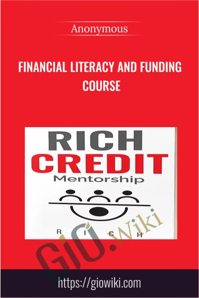 Financial Literacy And Funding Course
