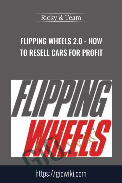 Flipping Wheels 2.0 - How To Resell Cars For Profit - Ricky & Team