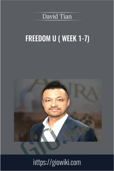 Freedom U ( week 1-7) - David Tian