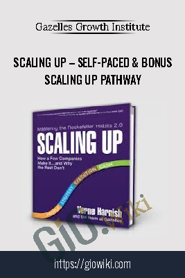 Scaling Up – Self-Paced & Bonus Scaling Up Pathway – Gazelles Growth Institute