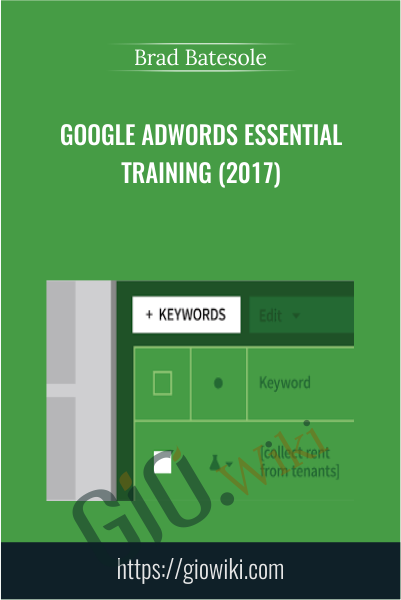 Google AdWords Essential Training (2017) - Brad Batesole