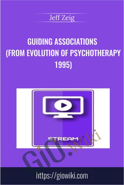 Italian Masters Series - Guiding Associations (From Evolution of Psychotherapy 1995) - Jeff Zeig