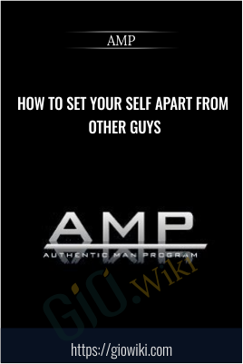 How To Set Your Self Apart From Other Guys - AMP