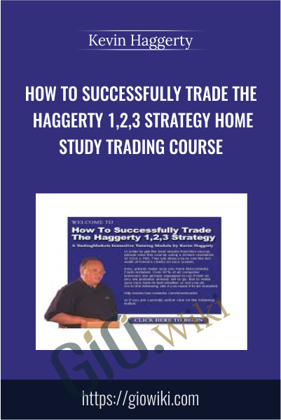 How To Successfully Trade The Haggerty 1,2,3 Strategy Home Study Trading Course - Kevin Haggerty