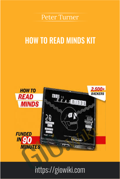 How to Read Minds Kit - Peter Turner