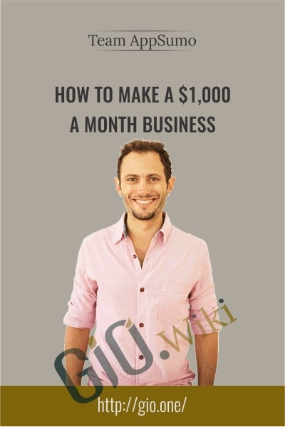 How to make a $1,000 a month business - Team AppSumo